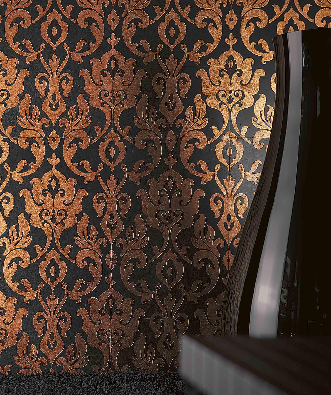 Lithos Mosaico italia Akira 305 x 610 NERO - old copper