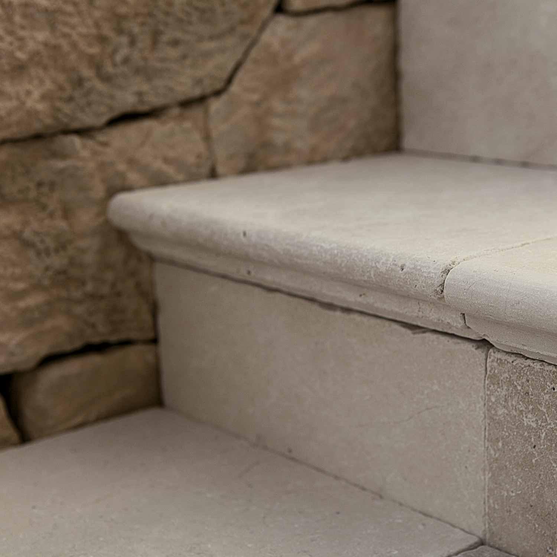 Lithos Mosaico Italia Apulia Stone SCALINO