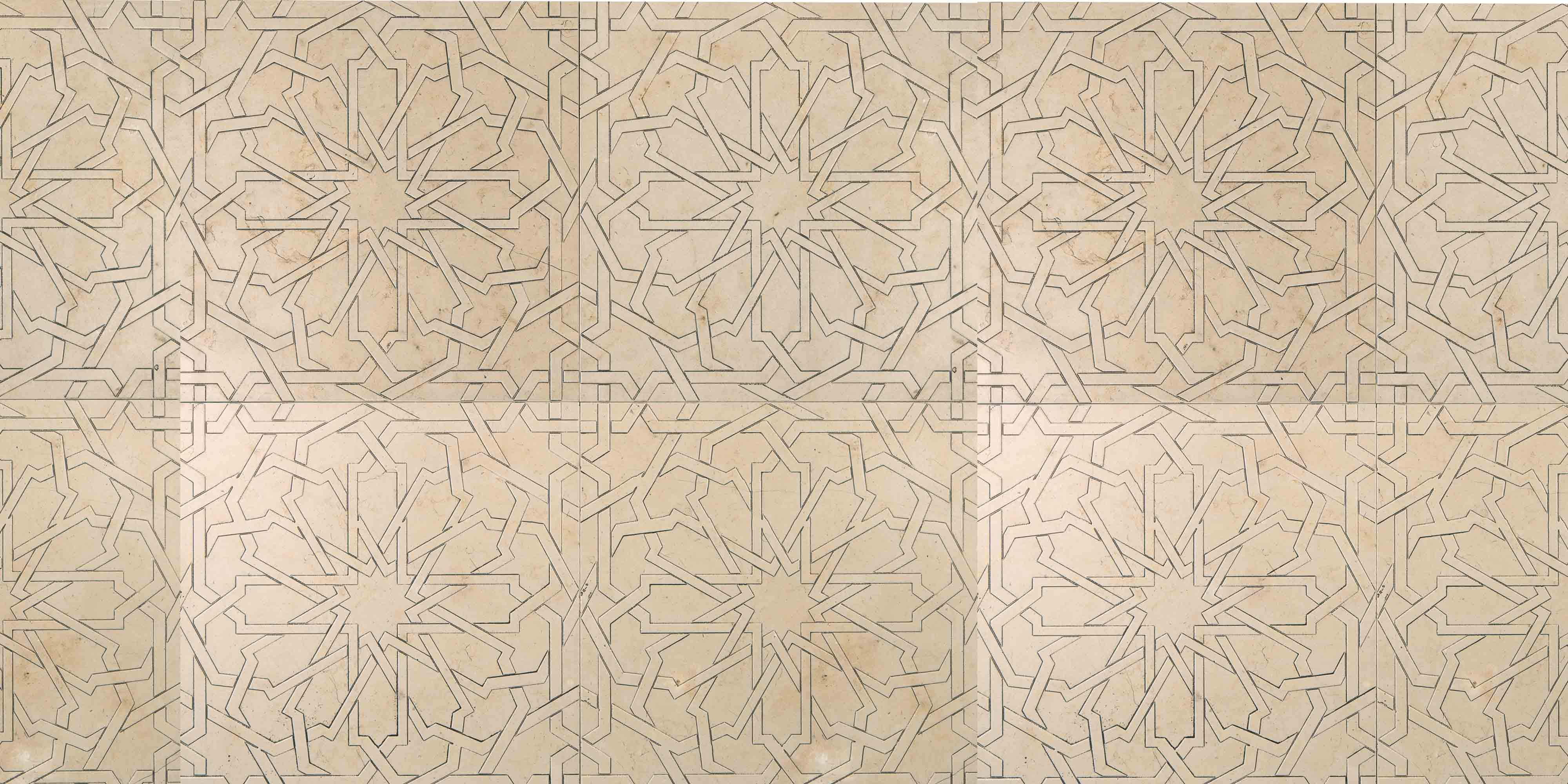 Lithos Mosaico Italia Girih 305 TR - seppia cop