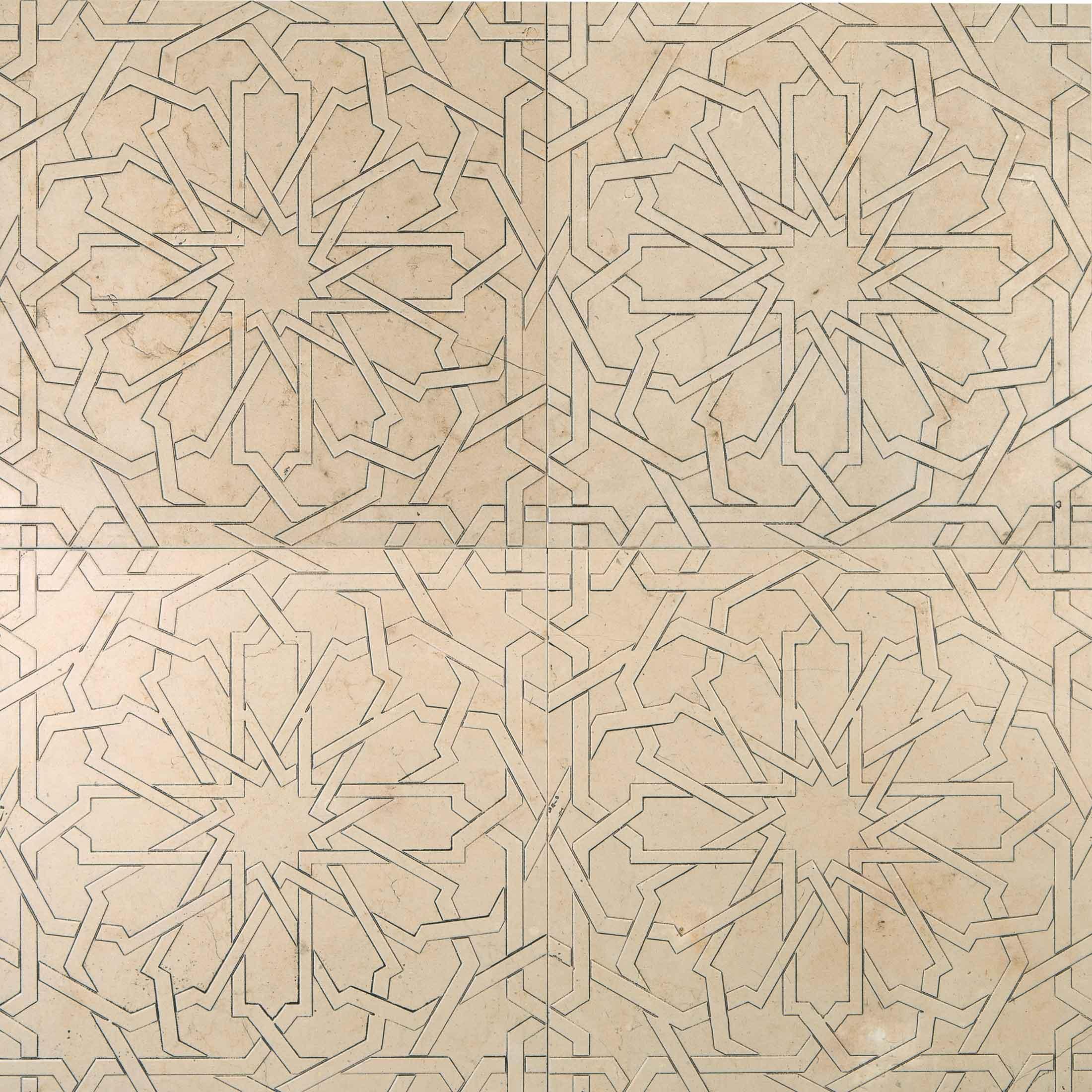 Lithos Mosaico Italia Girih 305 TR - seppia