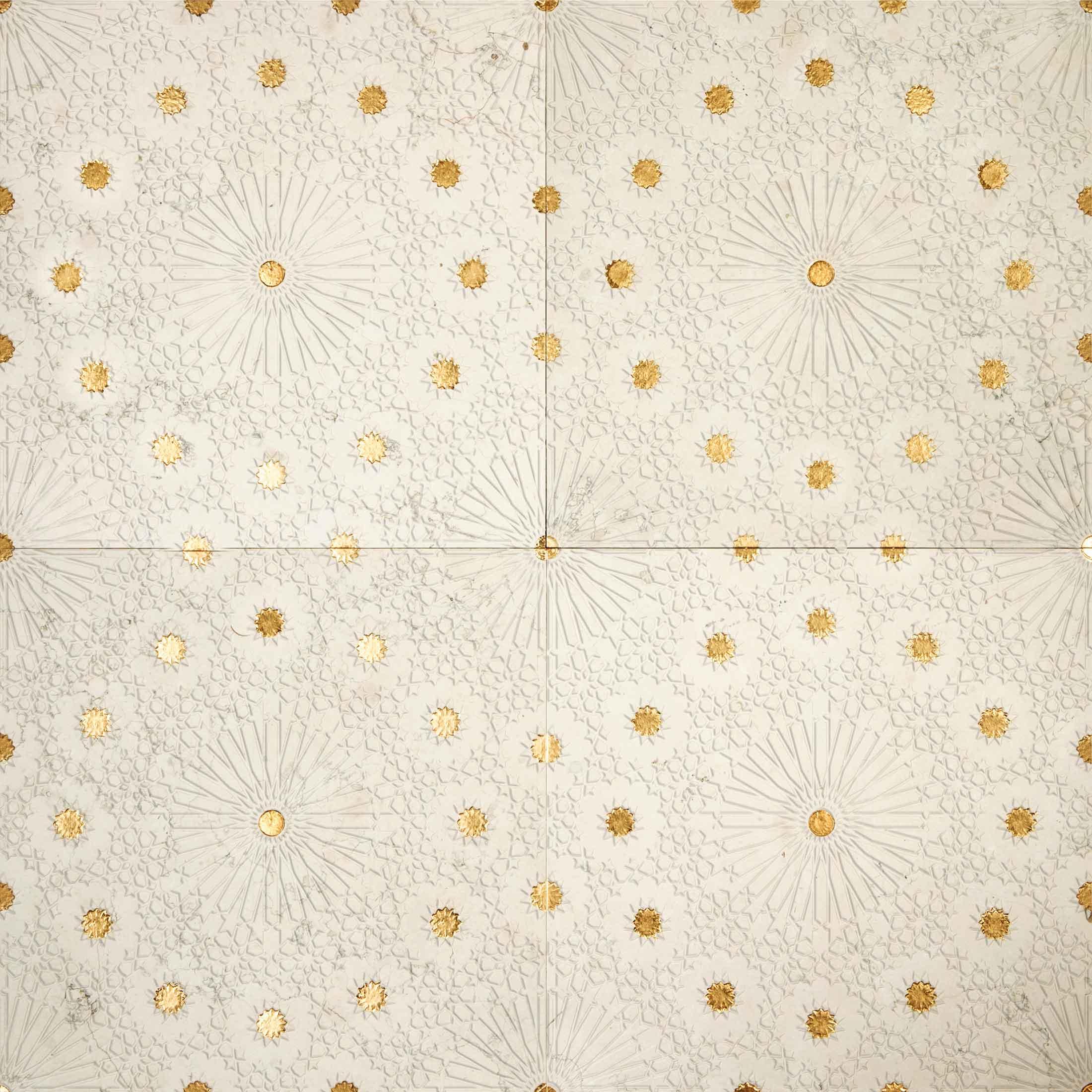 Lithos Mosaico Italia ZELLIGE 305 BP - gold