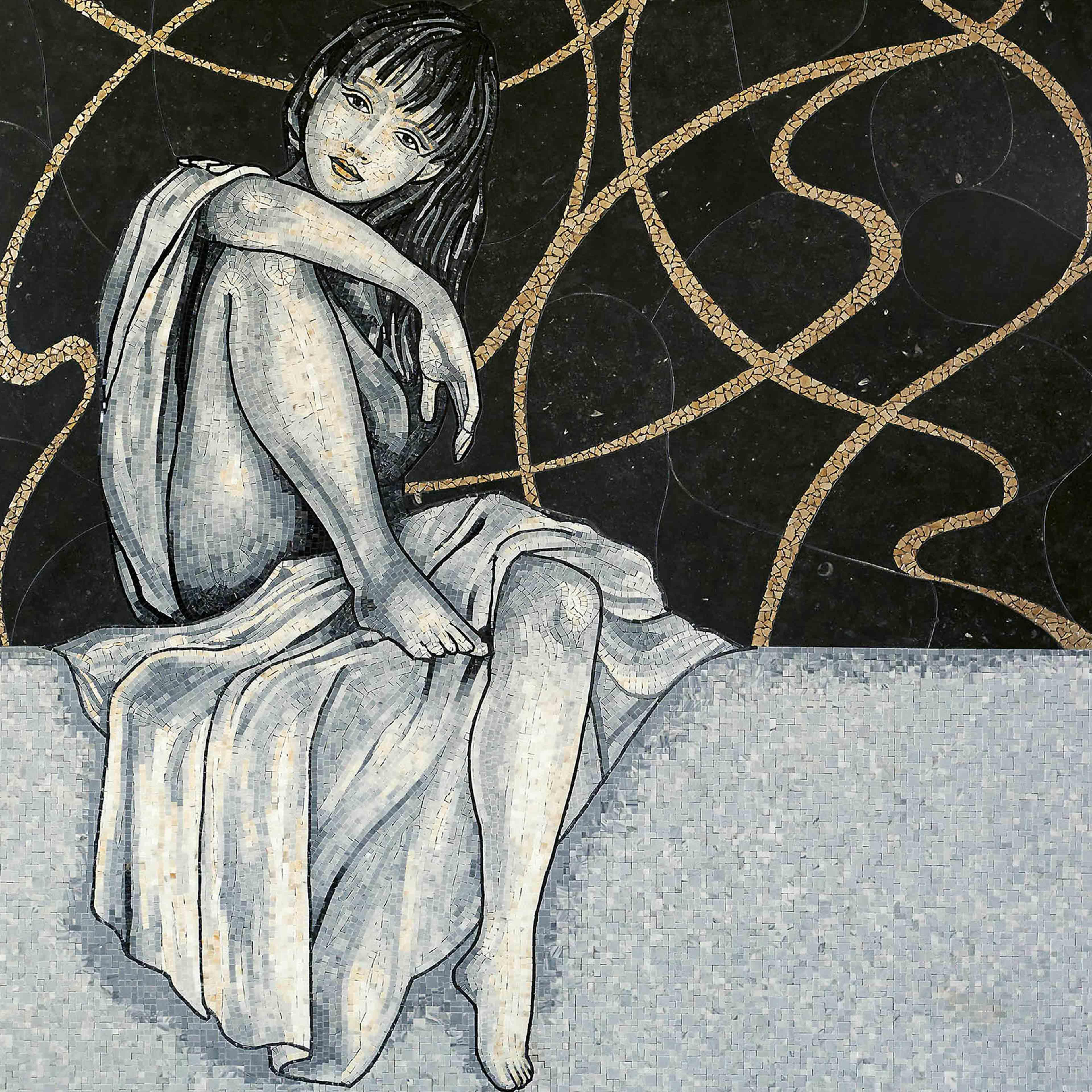 Lithos Mosaico Italia Les Demoiselles 4