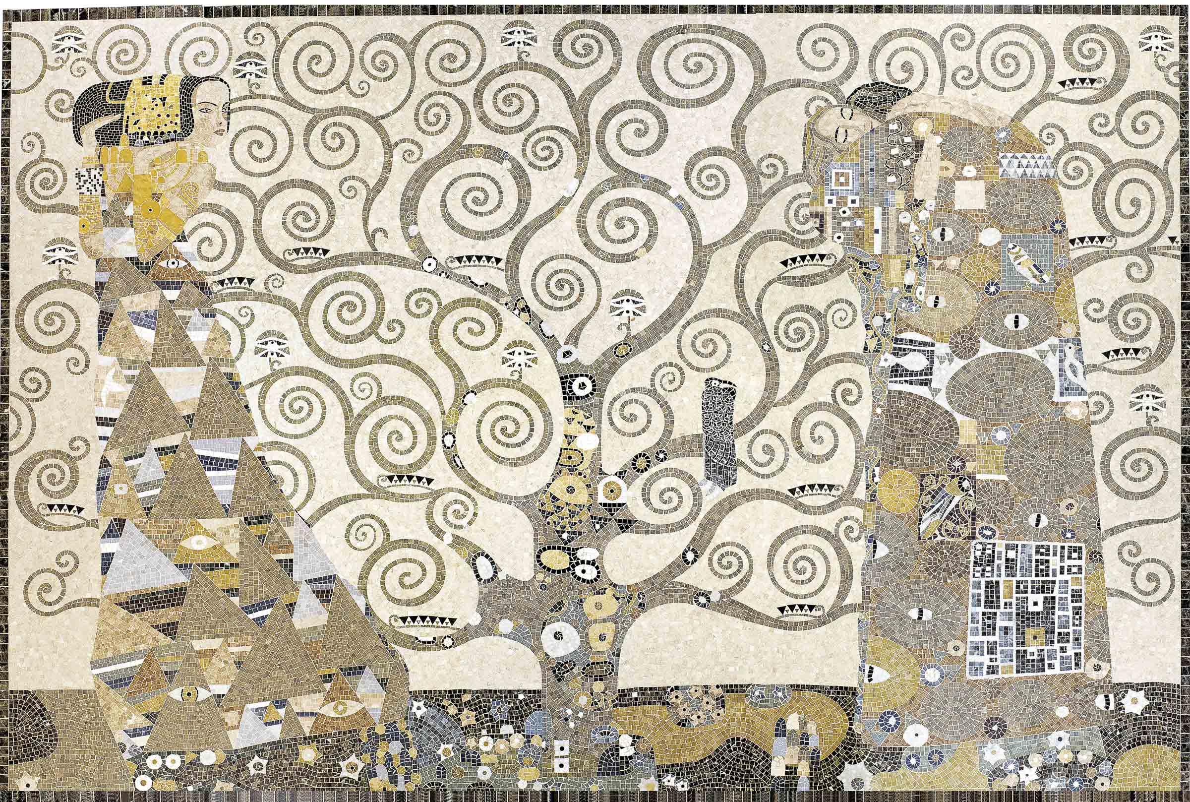 Lithos Mosaico Italia Klimt 1