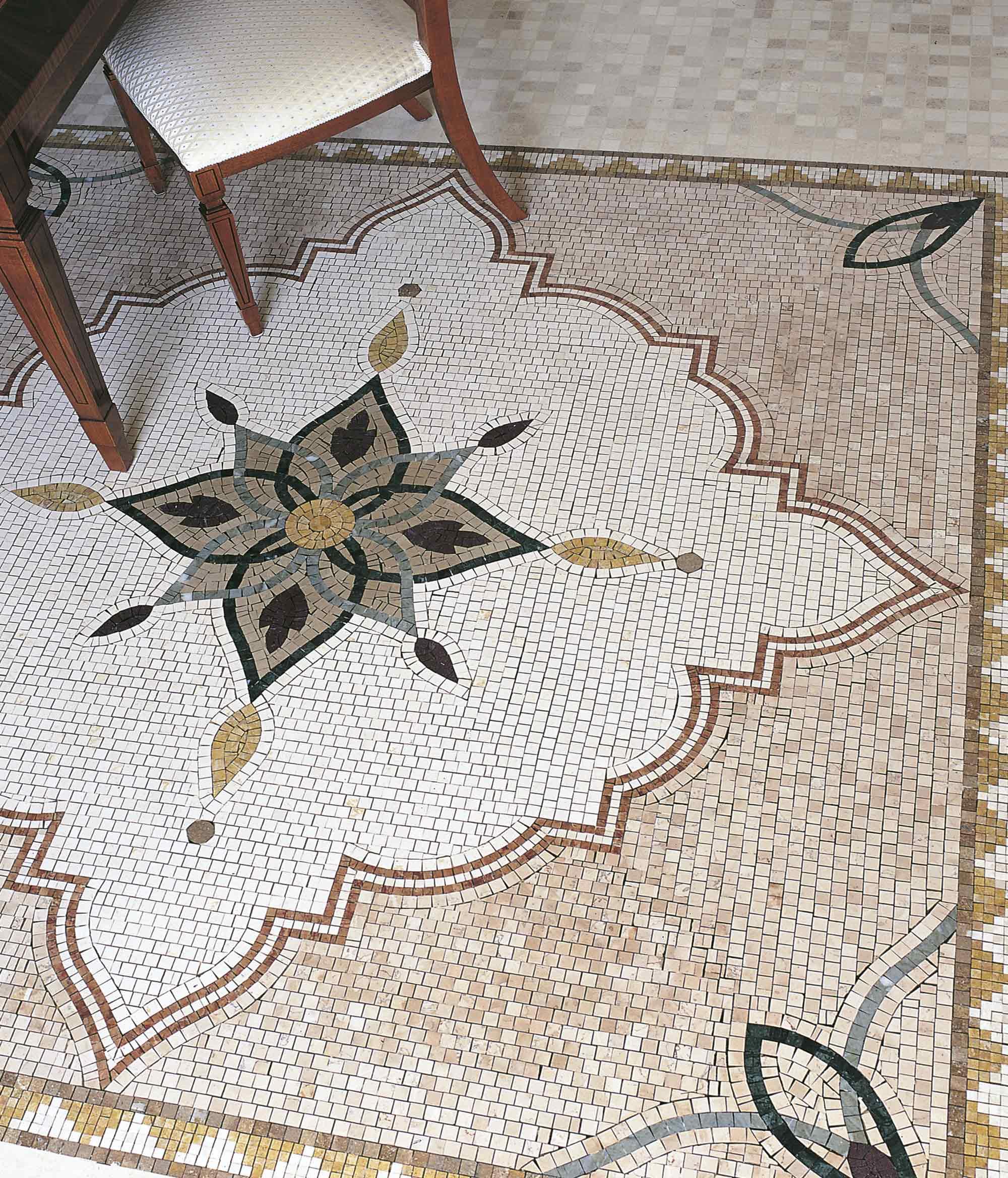 Kashan Lithos mosaico italia