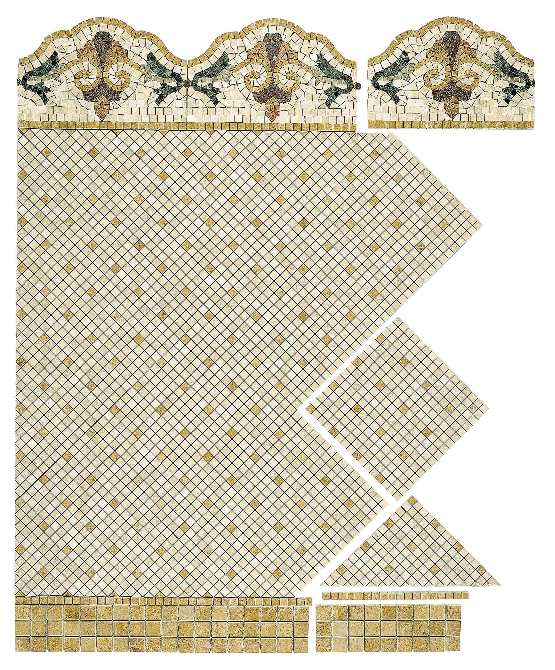 Versailles Lithos Mosaico italia