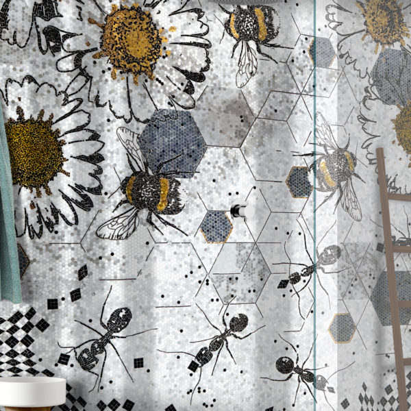LITHOS-MOSAICO-ITALIA-BEES-design-Andrea-Mighali-600x600 Collezioni