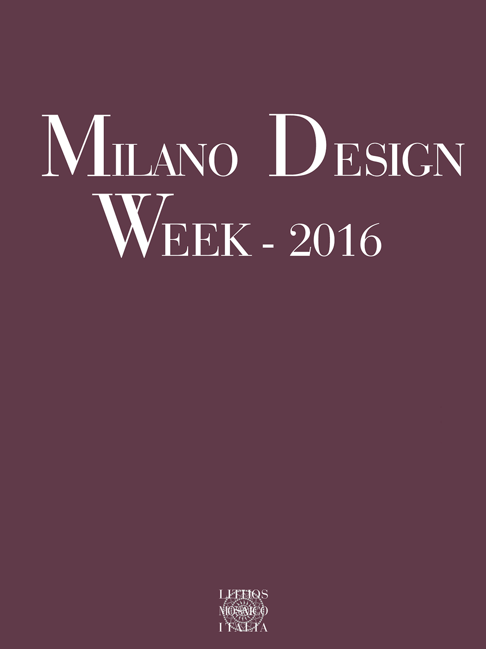 Milano design week 2016 lithos mosaico italia for Milano week design